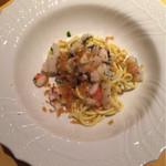 71532027 - 手打ち麺キタッラ 魚介とからすみのペペロンチーノ仕立て
