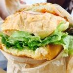 ダブルサンドウィッチ - Umami Chicken Sandwich(990円)
