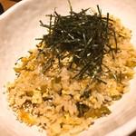 黒船 - 高菜チャーハン