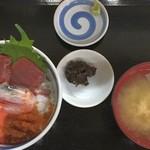 食事処 ながもり - 海鮮丼 (2000円)