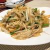 広味坊 - 料理写真:細切り野菜と豚肉のあんかけ焼きそば1,150円