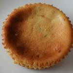 エビアンコーヒー - ラムレーズンチーズケーキ