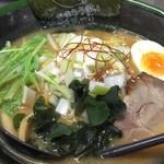 札幌ラーメン 熊吉 - 味噌ラーメン (750円)