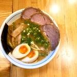 麺屋 はし本 - 特製ラー麺・950円