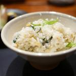 傳 - 太刀魚の炊き込みご飯