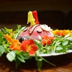傳 - てんとう虫のバースデーケーキ(注:同席者のです)