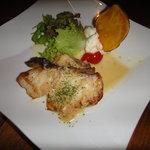 ポコ ア ポコ - 白身魚のバター焼き