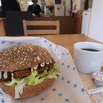 ラ ジータ - カツサンドと有機コーヒーS