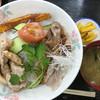 上河内サービスエリア(上り線)スナックコーナー - 料理写真:うんめぇ〜!笑顔の絆丼980円
