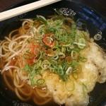 えきそば 姫路駅店 - 天ぷらえきそば