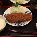 tonkatsumaisen - 茶美豚ロースカツ膳 1730円