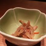 和食 えん - 金平牛蒡アップ