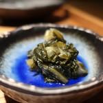 和食 えん - 青しば漬けアップ