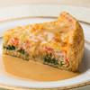 レストラン エクロール - 料理写真:ズワイ蟹のキッシュパイ
