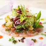 レストラン エクロール - 真鯛のカルパッチョ