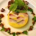 レストラン エクロール - 鯖とインカのめざめのプレッセ