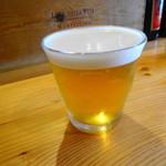 トラットリア ガタキージ - ランチビール