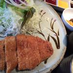 71546550 - ロースカツ定食1000円