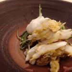 鮨 そえ島 - ◆渡り蟹・・味噌などと敢えてありますが、これも旨みを感じ美味しい。