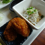 平塚漁港の食堂 - DELI・デリ御膳の副菜