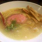 麺肆 秀膽 - ラーメン(塩)+メンマ