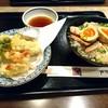 天霧 - 料理写真:チャーシュー丼660円。 天ぷら盛り合わせ590円。