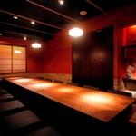 かこいや - 料理写真:完全個室「青磁」最大18名様までの掘り炬燵席。