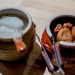 日本のお酒と浜焼料理‐ウラオンサカバ‐ - お通し(大根おろし&梅干し)
