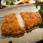 さき亭 - ロースカツ定食