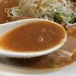 71550235 - 濃厚味噌らーめんスープ