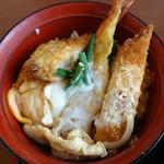 71550401 - ミニエビ・カツ丼のアップ
