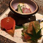 kiwa - 料理写真:夏の前菜盛り合わせ