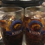 成吉思汗 大黒屋 - コーラで乾杯