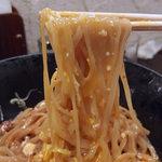 づゅる麺池田 - 【期間限定】冷しマーボナーラ・大盛(950円)
