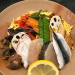 71552419 - ばら寿司は生魚を使わない、混ぜご飯系ちらし寿司