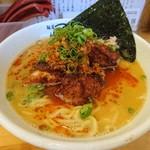 麺屋 帆のる - スパイシ-唐揚げ麺