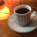 カフェ ド ギャルソン - 〈2017年8月〉マンデリン 700円(カップはエルメスのモザイク ヴァンキャトル プラチナ でした。素敵!)