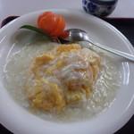 かすみ食堂 - 海老と卵のふわふわ炒め