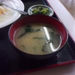 かすみ食堂 - 味噌汁