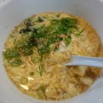 薩摩の久保 - ワカ玉スープ