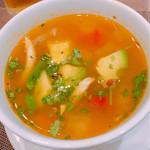 71555138 - スープはちょっぴりカレー風味