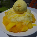 西門町芒菓冰 - 料理写真:マンゴーかき氷(190元)
