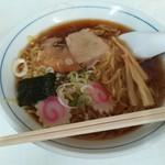 うのき食堂 - 中華そば500円+大盛り50円