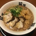 らー麺 藤平 - とんこつ醤油ラーメン