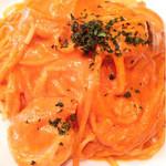 IGGY - 魚介のトマトクリームパスタ