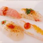 Nobu Honolulu - スパイシーな寿司