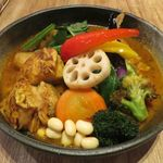 Rojiura Curry SAMURAI. - カレーのアップ