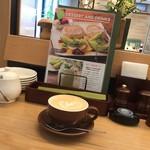 むさしの森珈琲 - カフェラテH