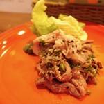 ボッテガ・ブルー - 冷しゃぶの肉サラダ