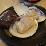 はまぐり食道 - やき蛤(1,500円)